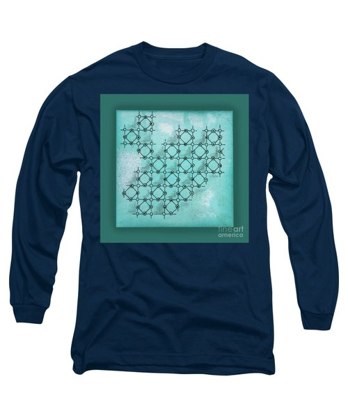 Abstract Biological Illustration Long Sleeve T-Shirt