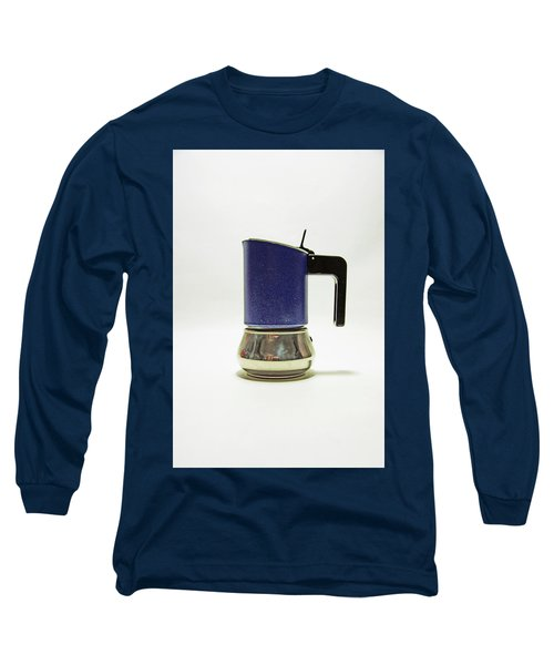 10-05-19 Studio. Blue Cafetiere Long Sleeve T-Shirt