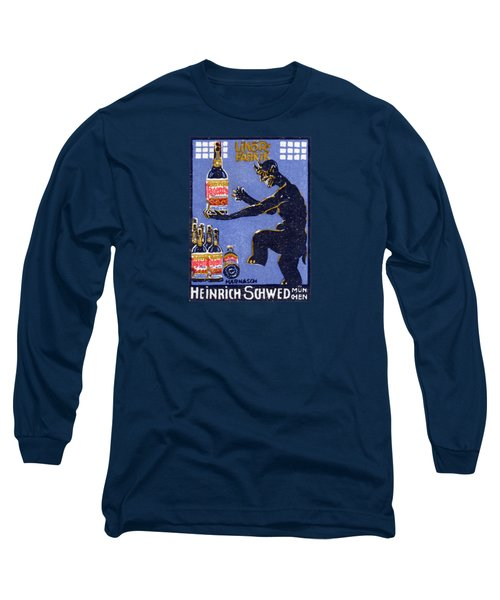 1910 Devil Dancing In Liquor Factory Long Sleeve T-Shirt
