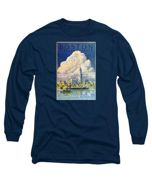 1930 Boston Massachusetts Long Sleeve T-Shirt