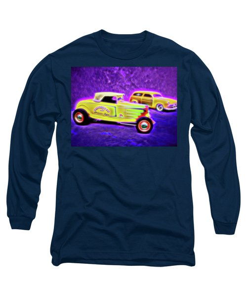32 Roadster And 49 Woody Long Sleeve T-Shirt