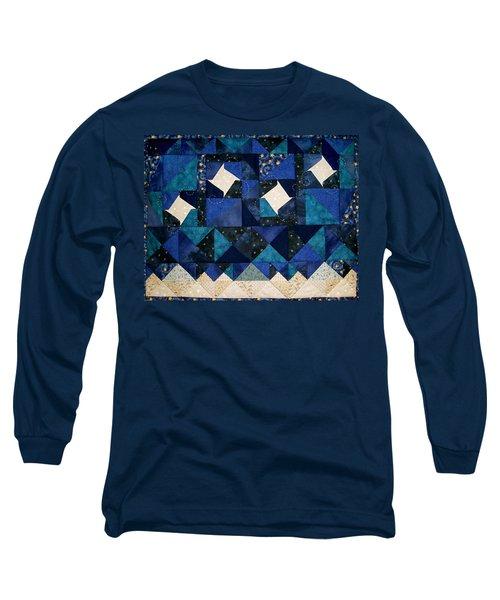 A Winter Snowscape Long Sleeve T-Shirt