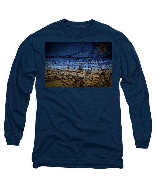 Abstract Landscape Long Sleeve T-Shirt