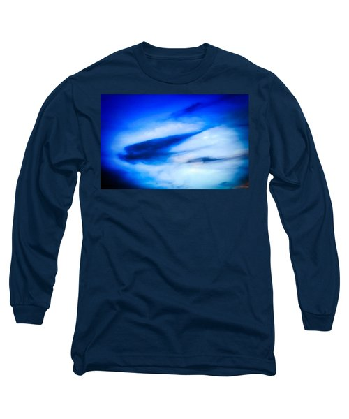 Long Sleeve T-Shirt featuring the photograph Arizona Angel In Blue by Judy Kennedy