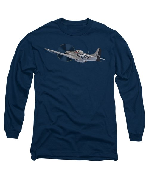 The Mission - P51 Over Dover Long Sleeve T-Shirt