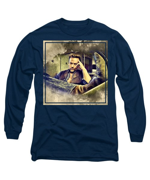 Flanery And His Cowboy Boot Long Sleeve T-Shirt