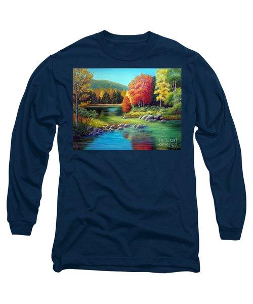 Autumn In New York Long Sleeve T-Shirt