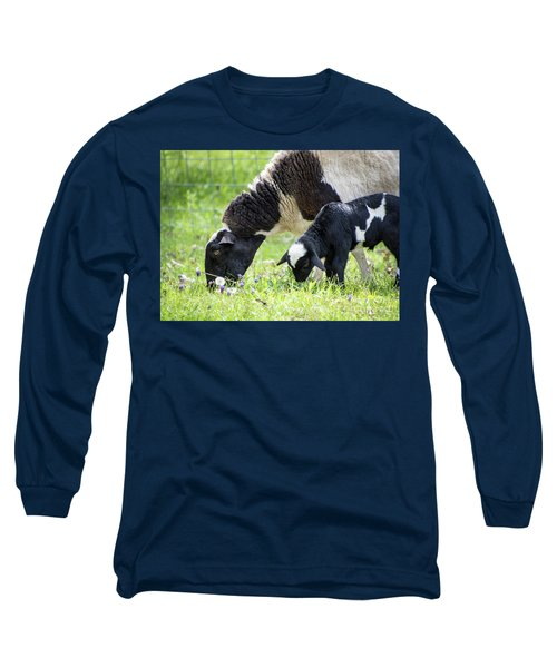 Baba And Pepe Grazing Long Sleeve T-Shirt