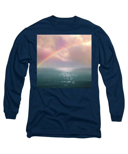 Beautiful Morning In Dreamland With Rainbow Long Sleeve T-Shirt