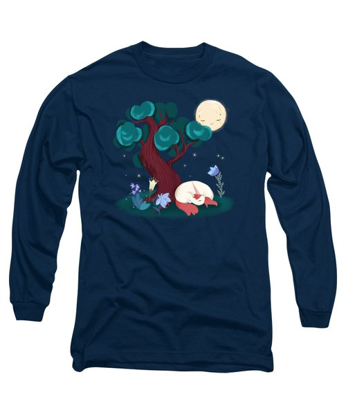 Bedtime Sweet Dreams For All Magical Creatures Long Sleeve T-Shirt