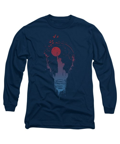 Big City Lights Long Sleeve T-Shirt