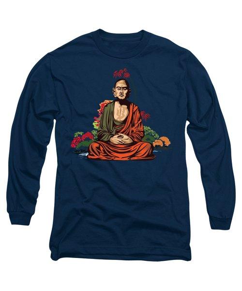 Buddhist Monk. Long Sleeve T-Shirt