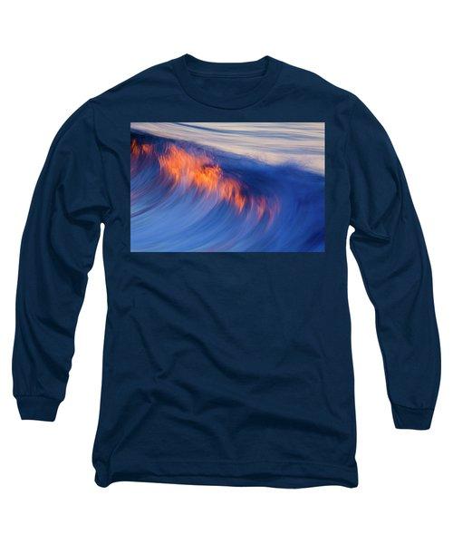 Burning Wave Long Sleeve T-Shirt