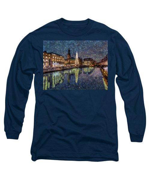 Christmas Hamburg Long Sleeve T-Shirt