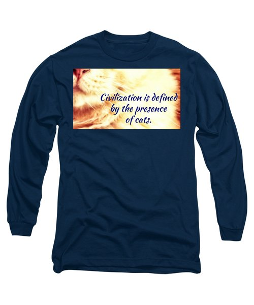Long Sleeve T-Shirt featuring the photograph Civilization by Judy Kennedy