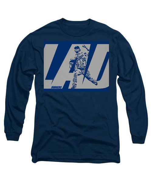 Clayton Kershaw Los Angeles Dodgers City Art 1 Long Sleeve T-Shirt