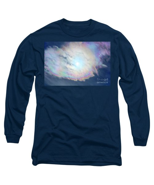 Cloud Iridescence Long Sleeve T-Shirt