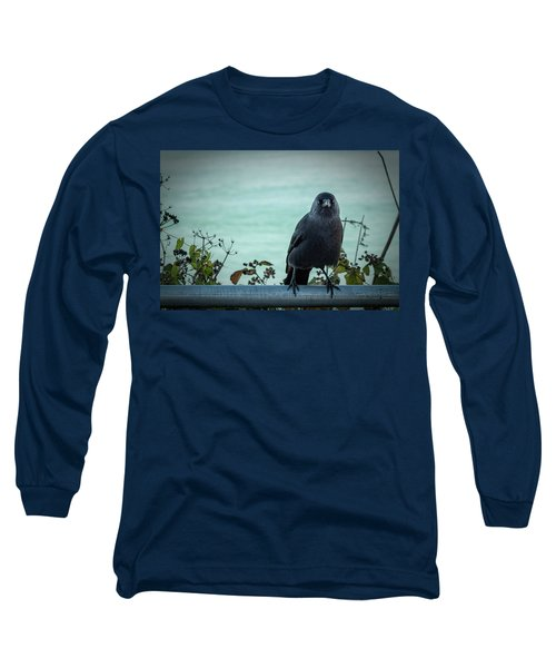 Cornish Crow Long Sleeve T-Shirt