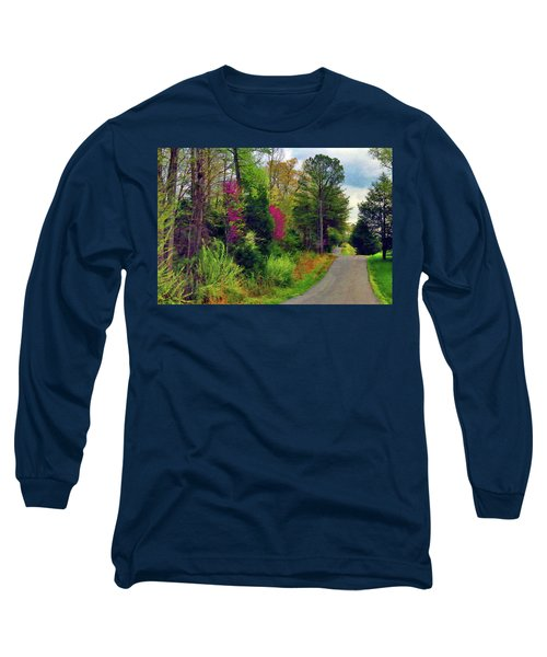 Country Road Take Me Home Long Sleeve T-Shirt