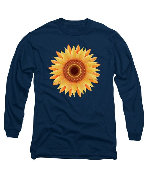 Country Sunflower Long Sleeve T-Shirt