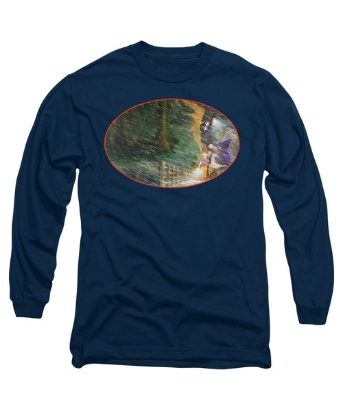 Crossing Timber Bridge Long Sleeve T-Shirt