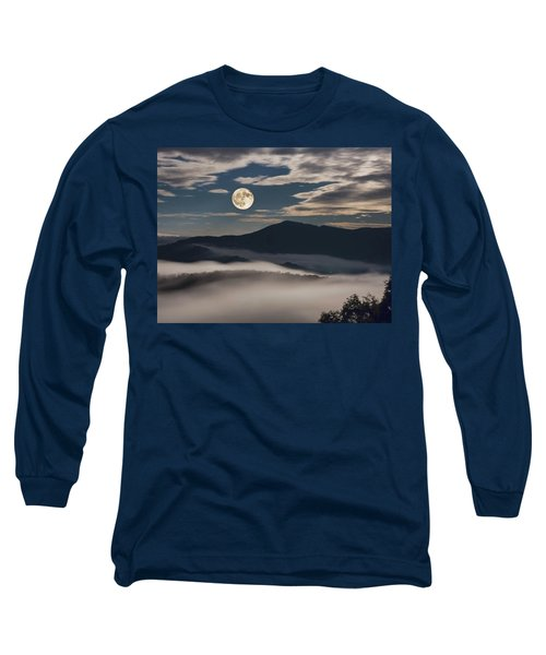 Dance Of Clouds And Moon Long Sleeve T-Shirt