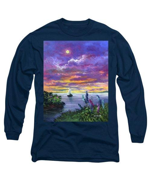 Delphinium Dreams Long Sleeve T-Shirt