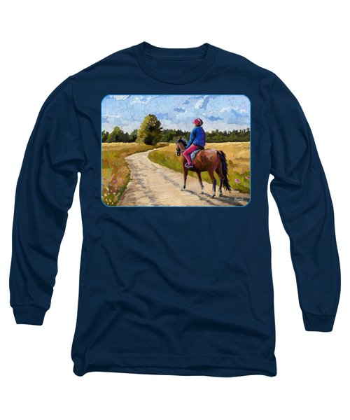Easy Ride Afternoon Long Sleeve T-Shirt