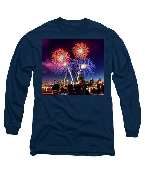 Fair St. Louis Fireworks 6 Long Sleeve T-Shirt