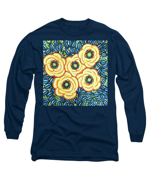 Floral Whimsy 7 Long Sleeve T-Shirt