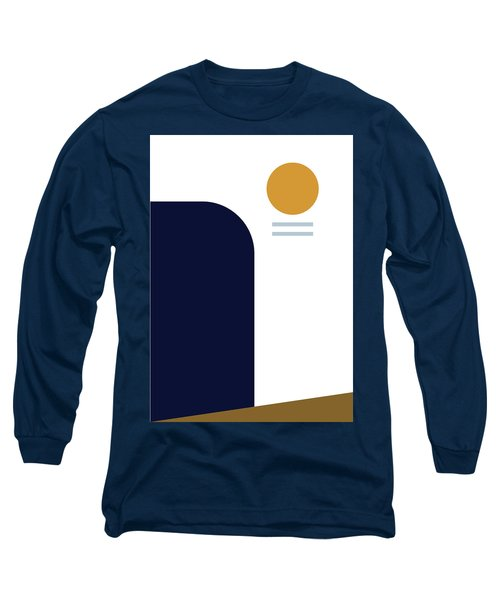 Geometric Painting 2 Long Sleeve T-Shirt