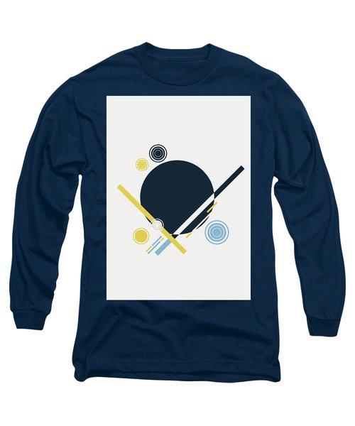 Geometric Painting 3 Long Sleeve T-Shirt