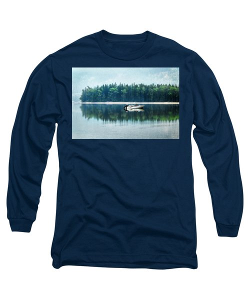 Glacier National Park Lake Reflections Long Sleeve T-Shirt