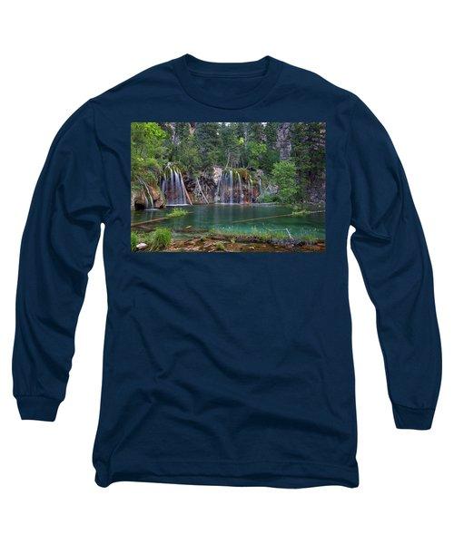 Hanging Lake Colorado Long Sleeve T-Shirt