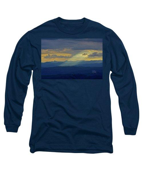 Hawks Bill Mountain Sunset Long Sleeve T-Shirt