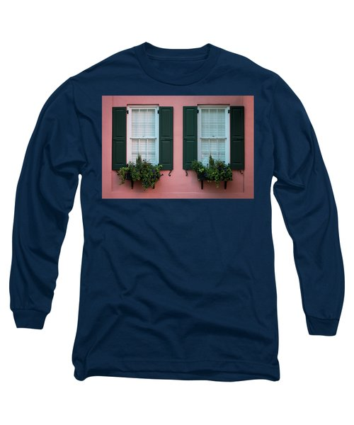 House Eyes Long Sleeve T-Shirt