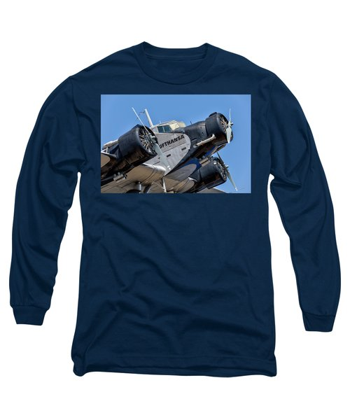 Junkers Ju 52 Long Sleeve T-Shirt