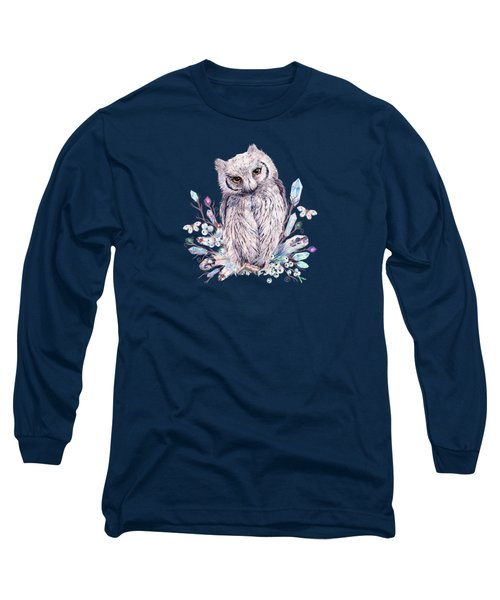 Keeper Of The Crystals Makers Of Wands Long Sleeve T-Shirt