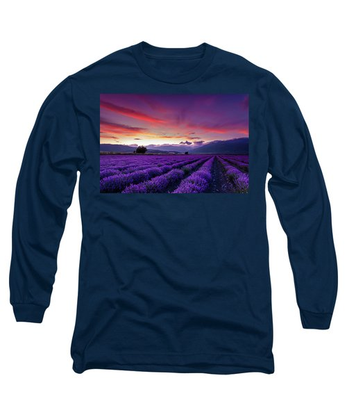 Lavender Season Long Sleeve T-Shirt