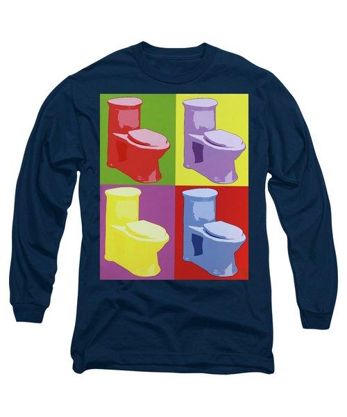 Les Toilettes  Long Sleeve T-Shirt