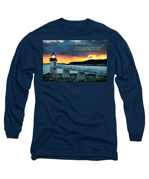 Let Your Light So Shine Long Sleeve T-Shirt