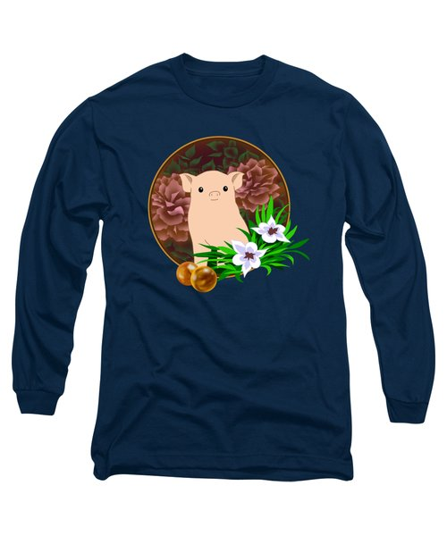 Lucky Pig Long Sleeve T-Shirt