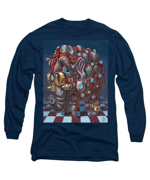 Magical Many-eyed Elephant Long Sleeve T-Shirt