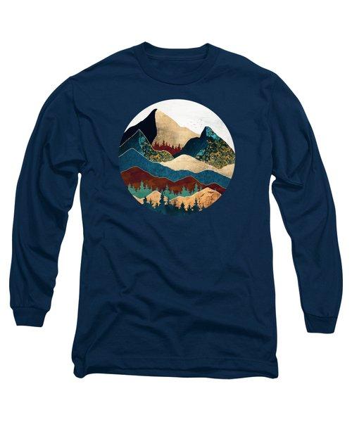 Malachite Mountains Long Sleeve T-Shirt