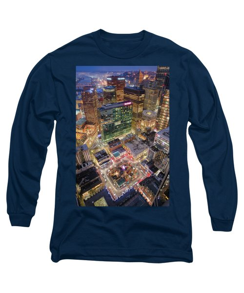 Market Square From Above  Long Sleeve T-Shirt