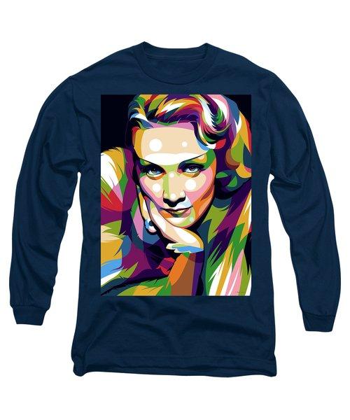 Marlene Dietrich Long Sleeve T-Shirt