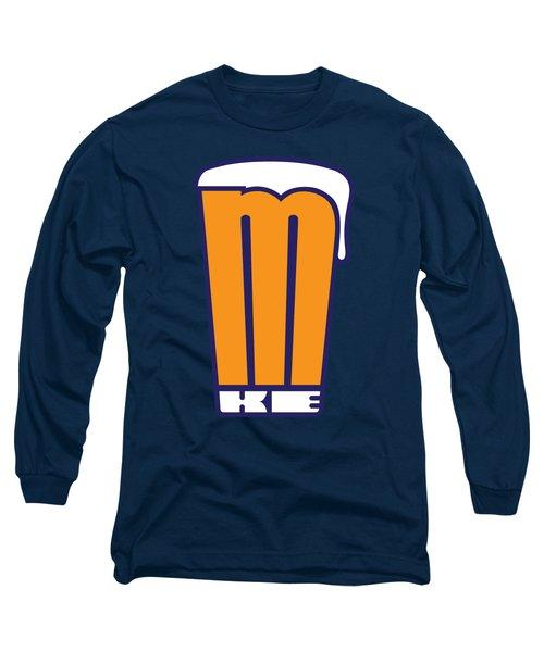 Mke Pint Glass Long Sleeve T-Shirt