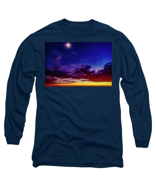 Moon Sky Long Sleeve T-Shirt