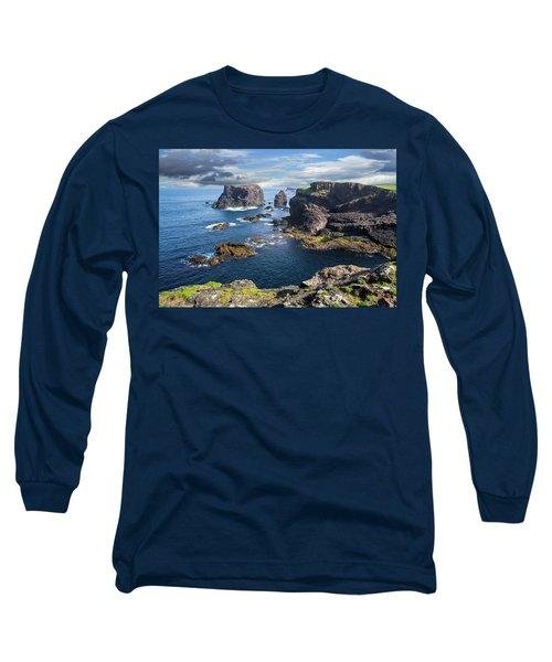 Northmavine Coast, Shetland Isles Long Sleeve T-Shirt
