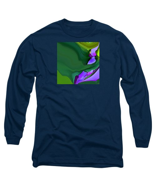Orchids And Emeralds Long Sleeve T-Shirt
